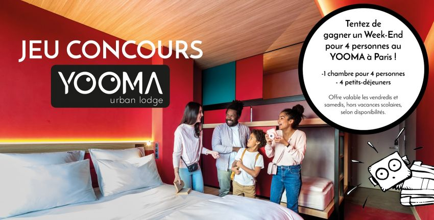 Un week-end pour 4 personnes au YOOMA Paris