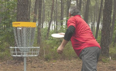 Disc-golf au Mans